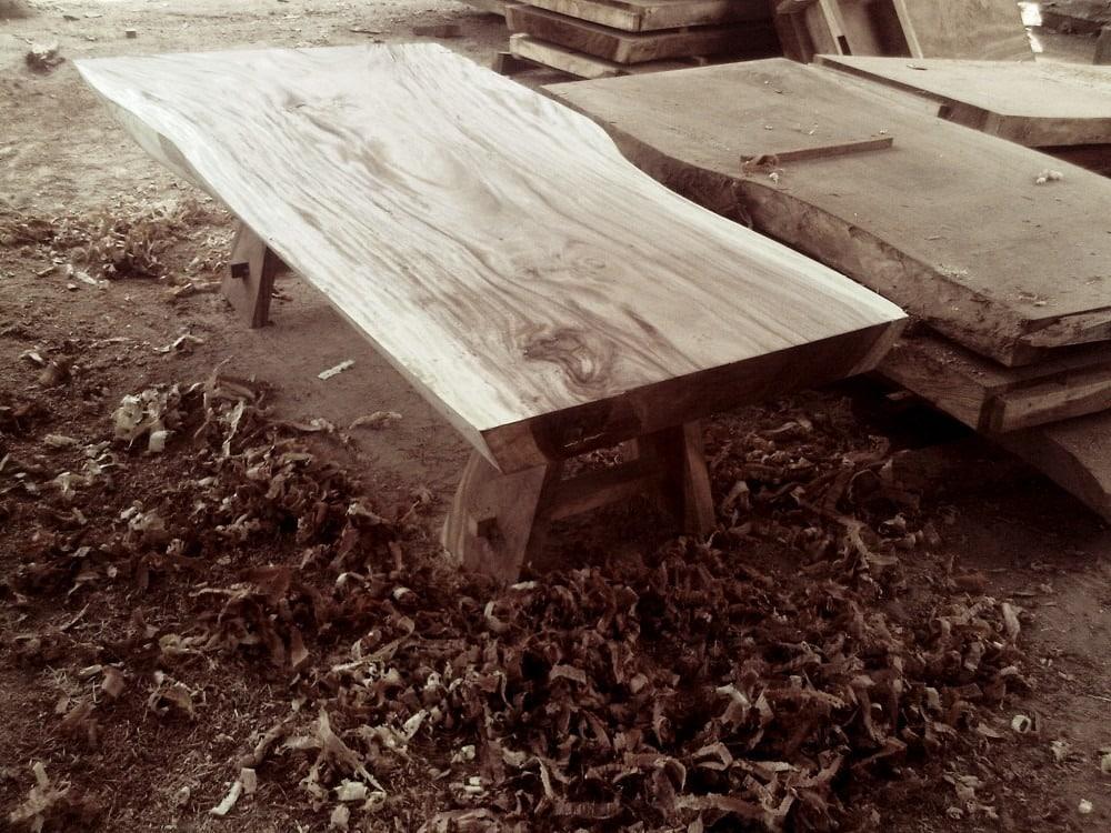 Patterned Suar Wood