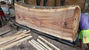 Raw Suar Wood
