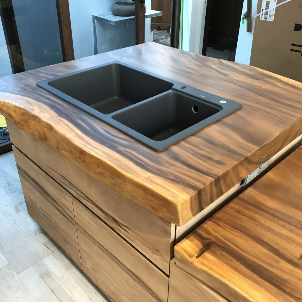 Solid Wood Kitchen Top