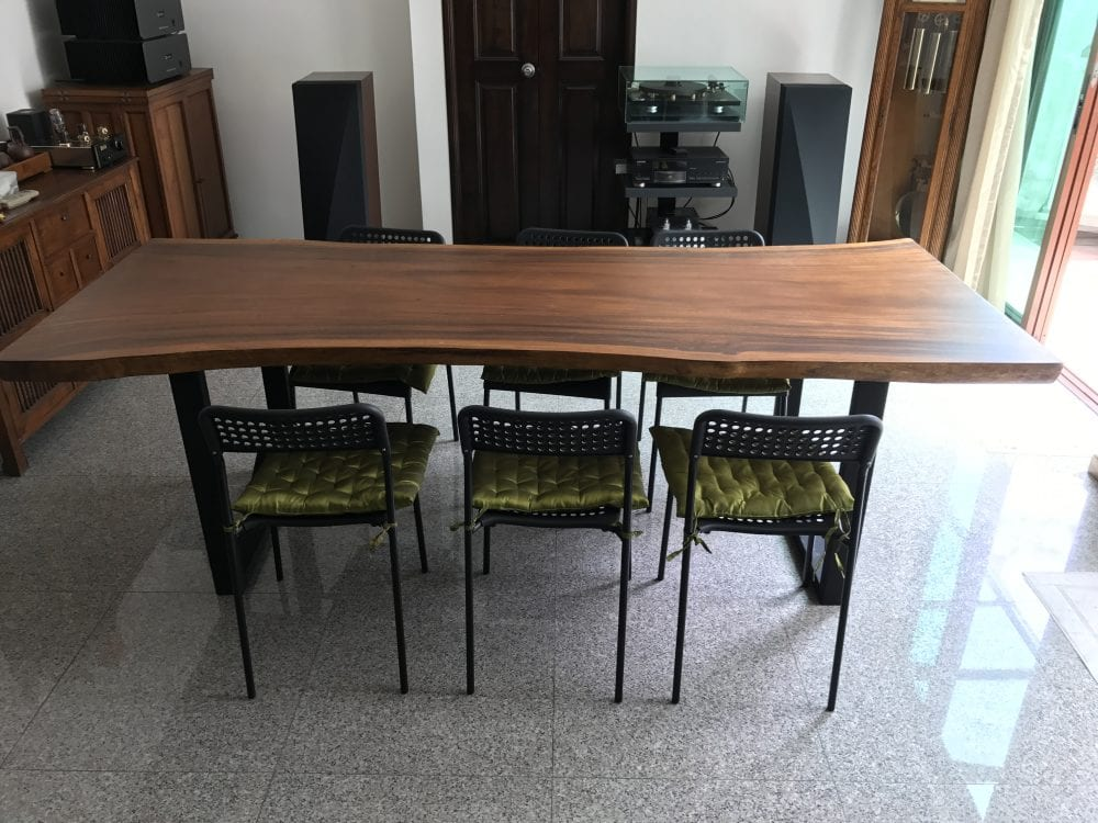 Group By Suar Wood Dining Table