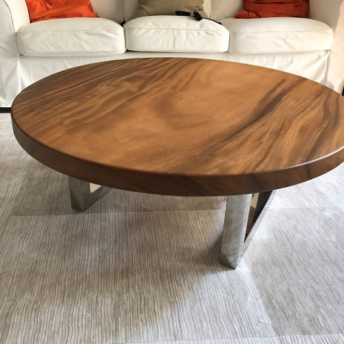 Round Suar Wood Table Top