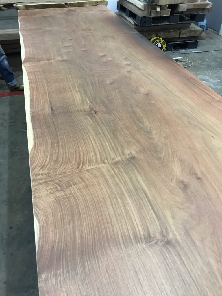 Solid Wood After Sanding