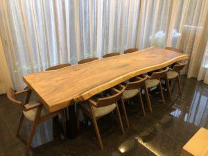 Suar Wood Dining Table Singapore