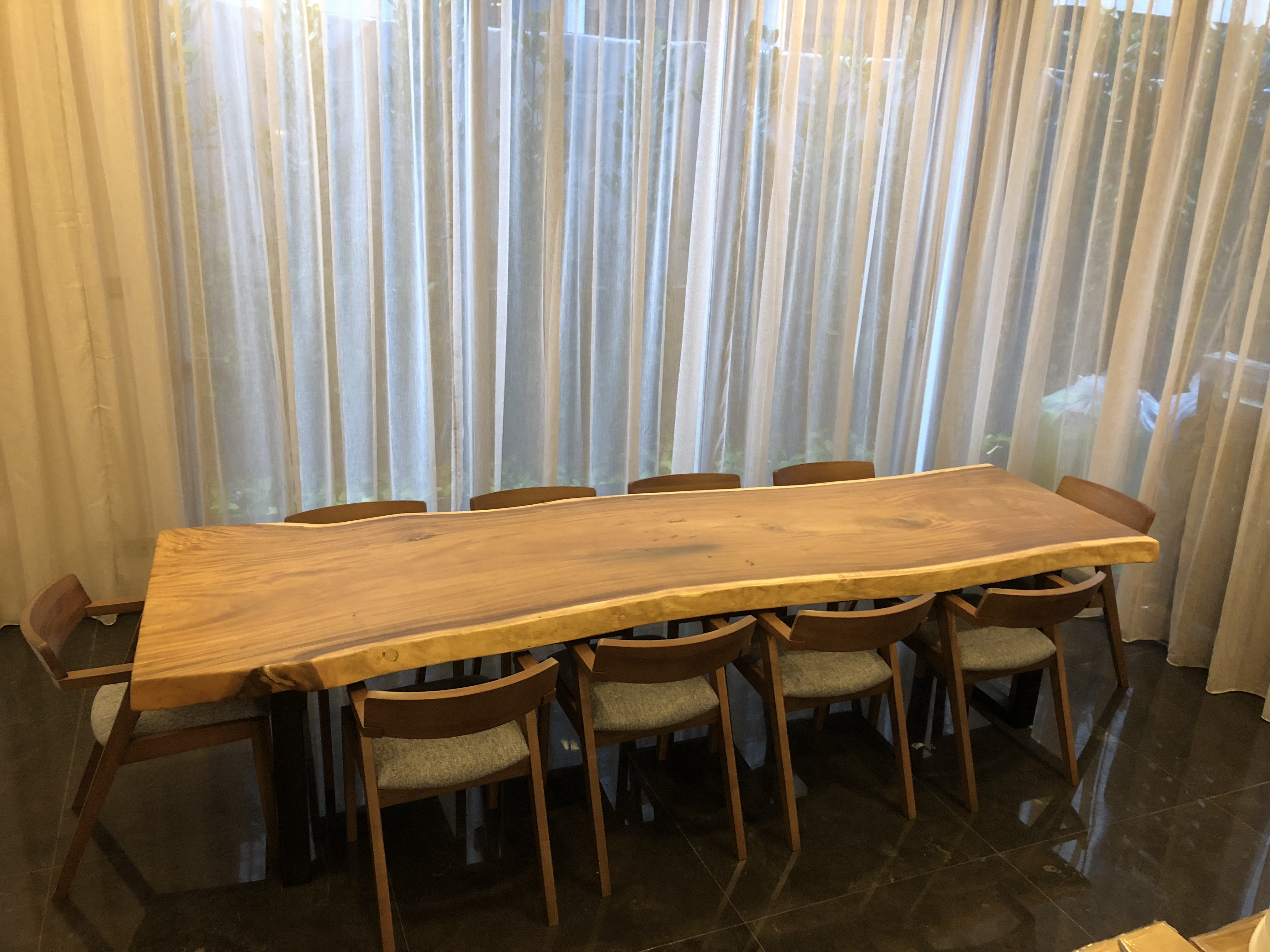 Wood Table Dining