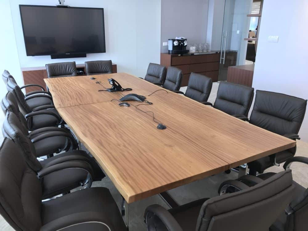 Solid Wood Meeting Table