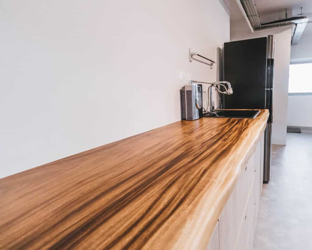 Solid Wood Kitchen Counter Top