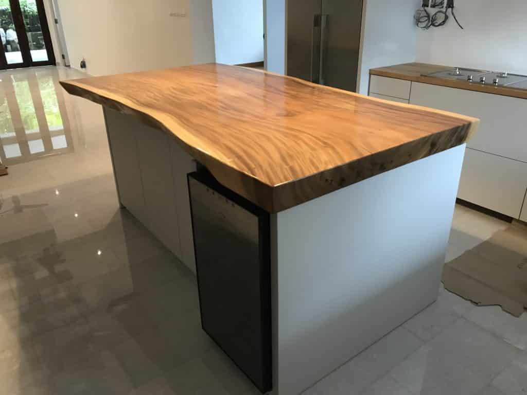 Suar Wood Kitchen Island Counter Top